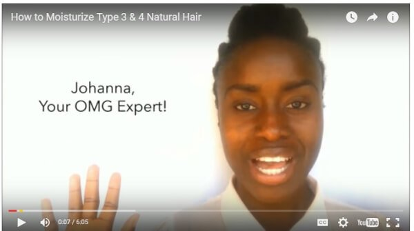 moisturize natural 4c hair -blackhairomg experts johanna
