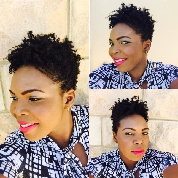 twist out natural hair styles